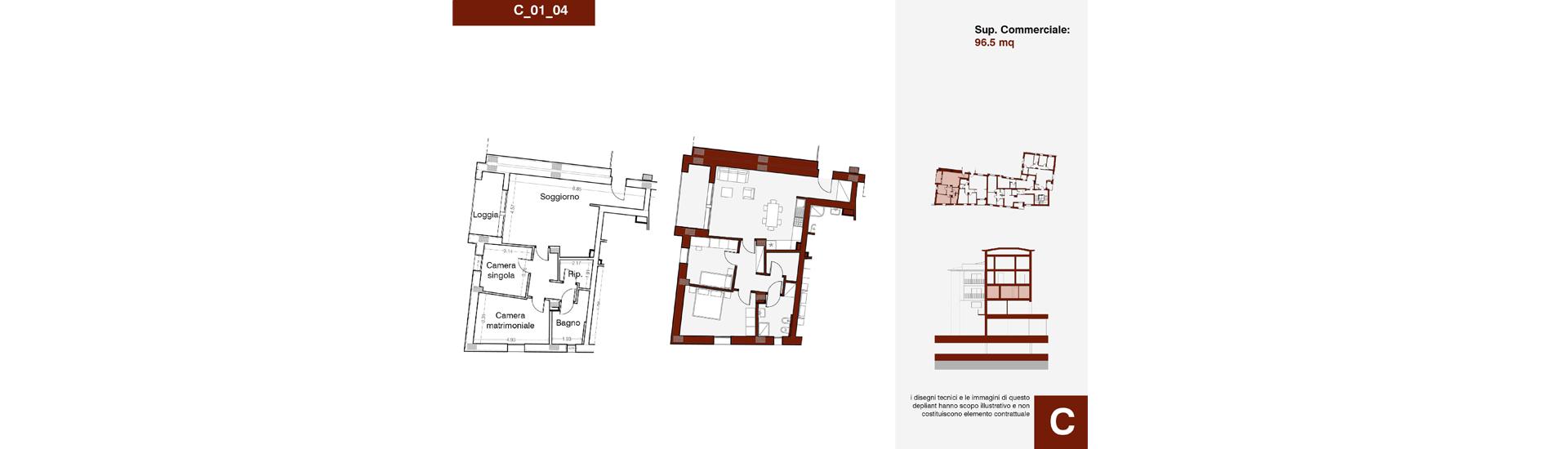 Edificio C, C_01_04, immagine completa