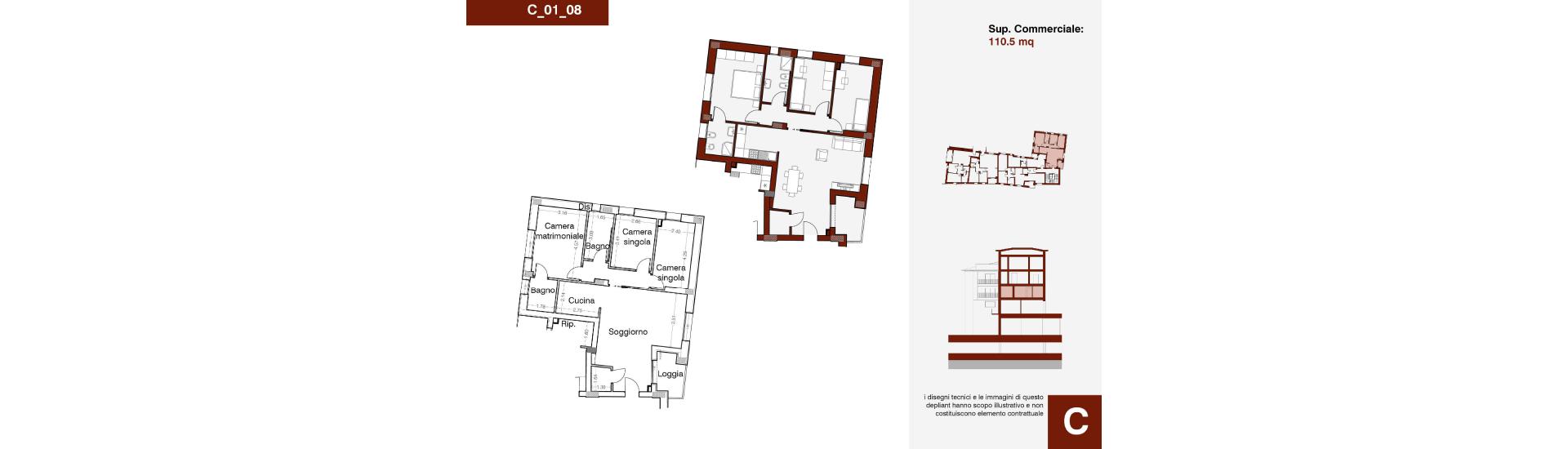 Edificio C, C_01_08, immagine completa