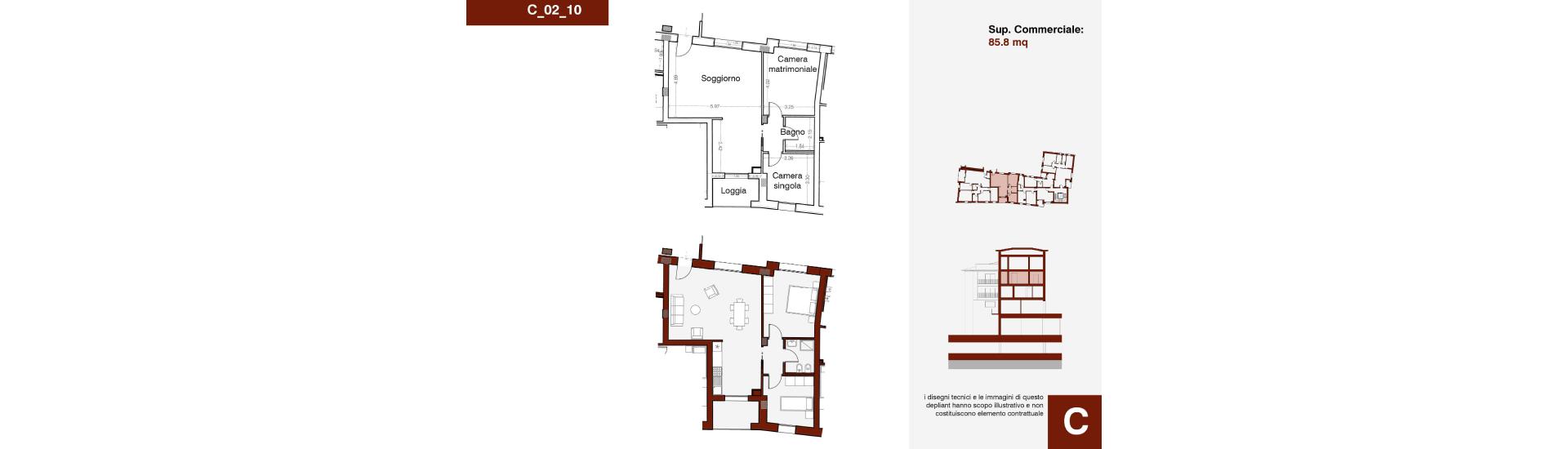 Edificio C, C_02_10, immagine completa