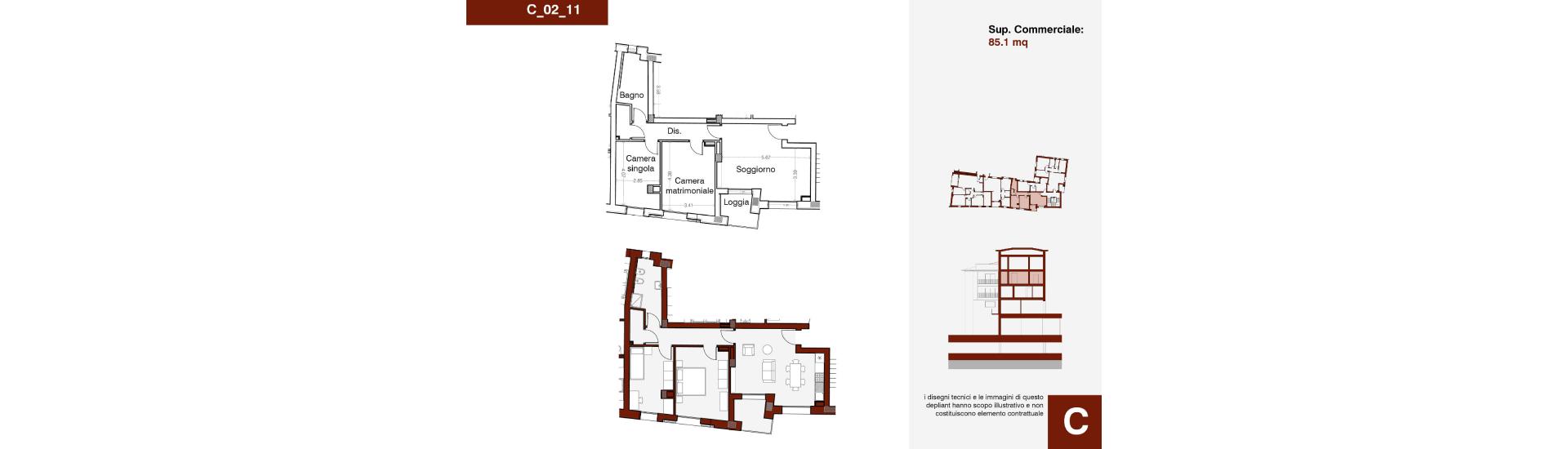 Edificio C, C_02_11, immagine completa