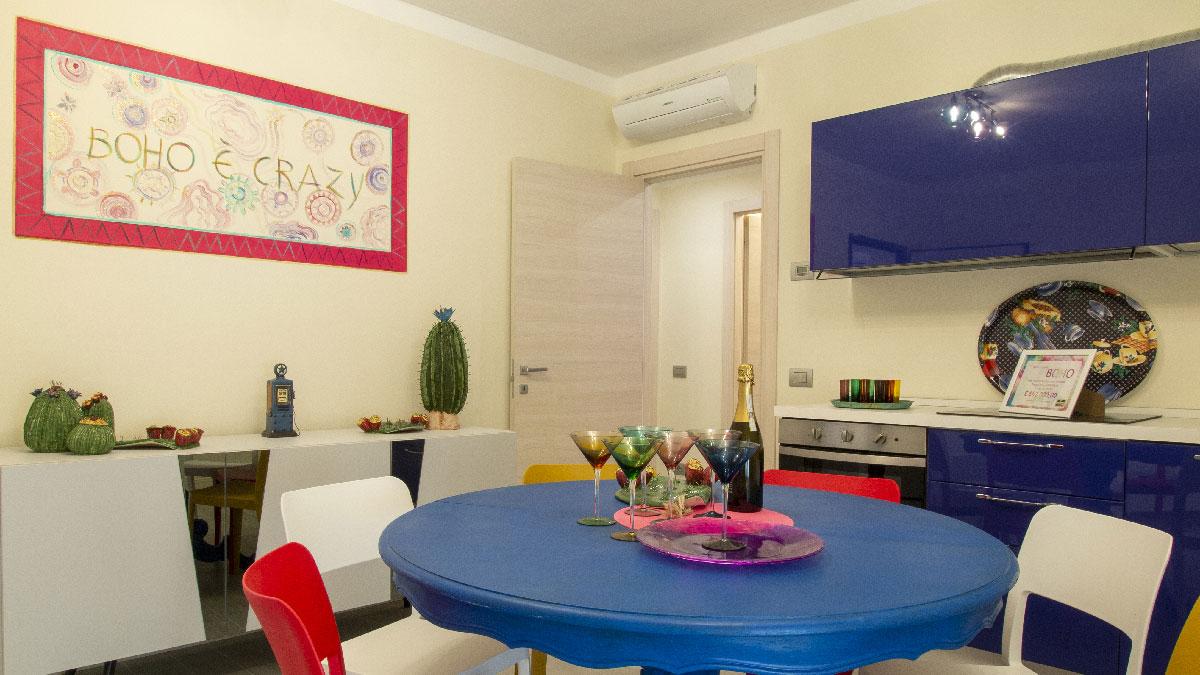Appartamento di civile abitazione posto al secondo piano dell'edificio F