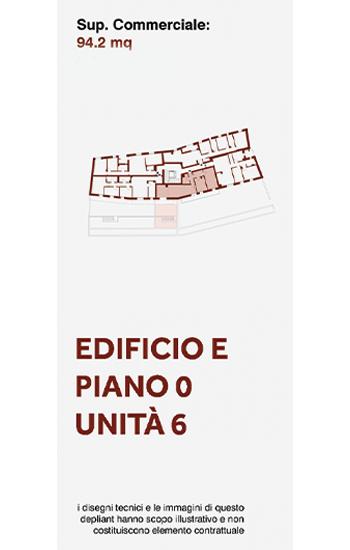 Appartamento di civile abitazione posto a piano terra dell'edificio E